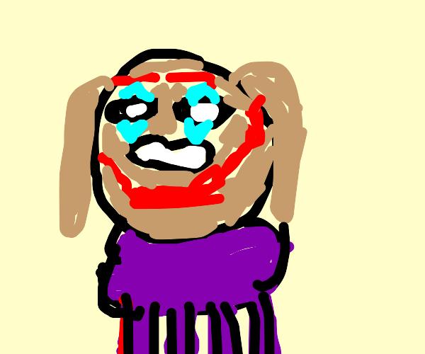 Joker as a Dog