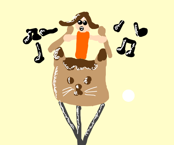 Cat drum