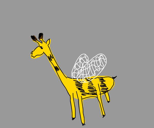 Bee giraffe hybrid