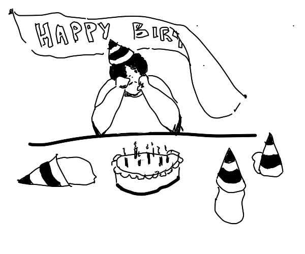 you forgot his birthday