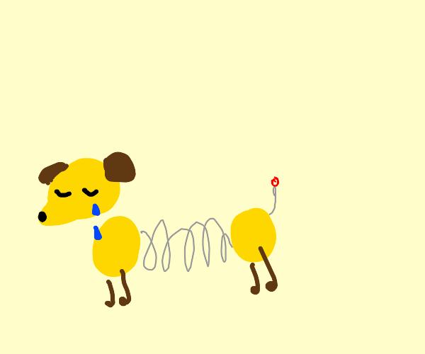 sad Slinky (Toy Story)