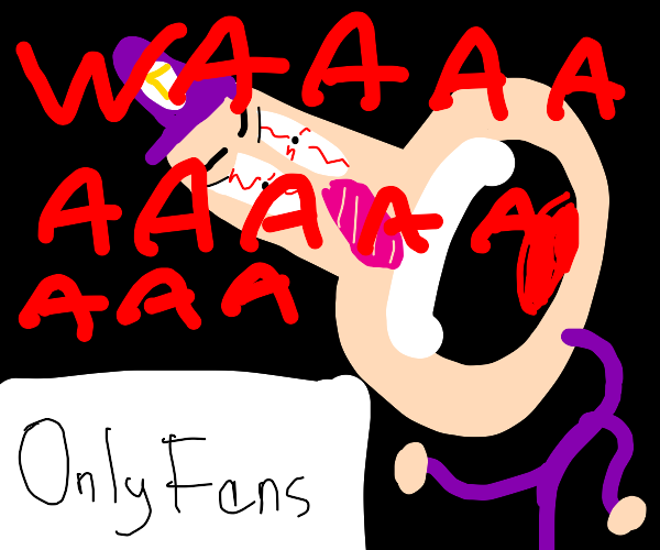 waluigi has an only fans account?!