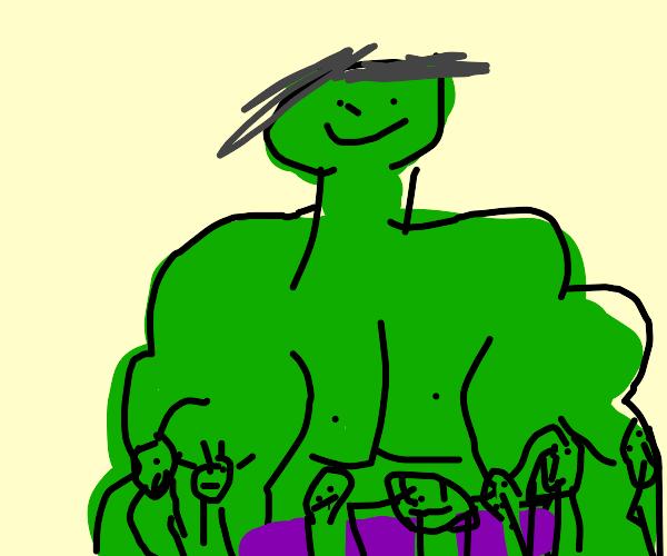 Hulk and his babies