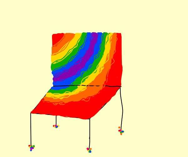 a beautiful chair.