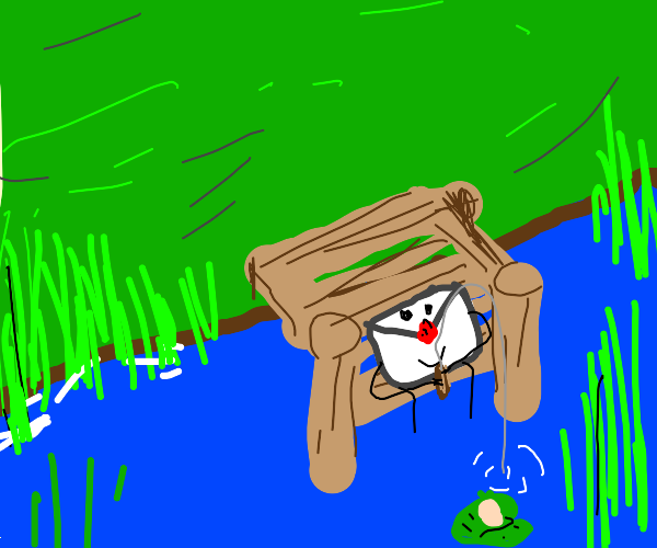 Fishing with a Letter