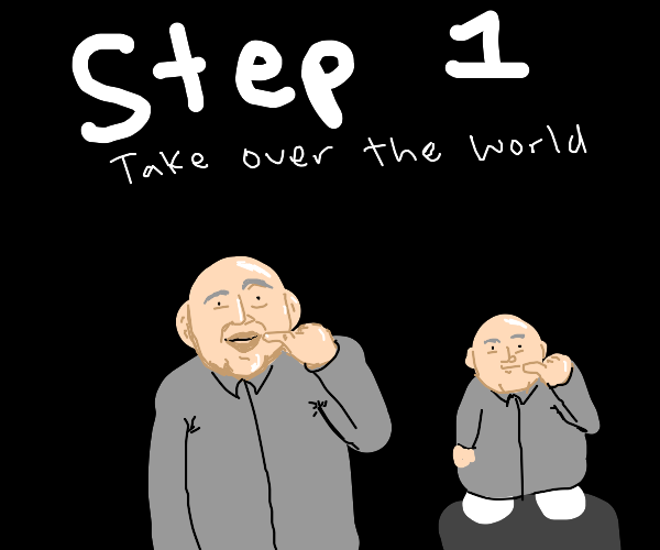 Step 2: Nail-biting & baldness now mandatory