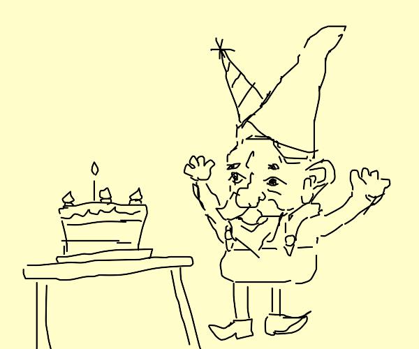 A nomes birthday