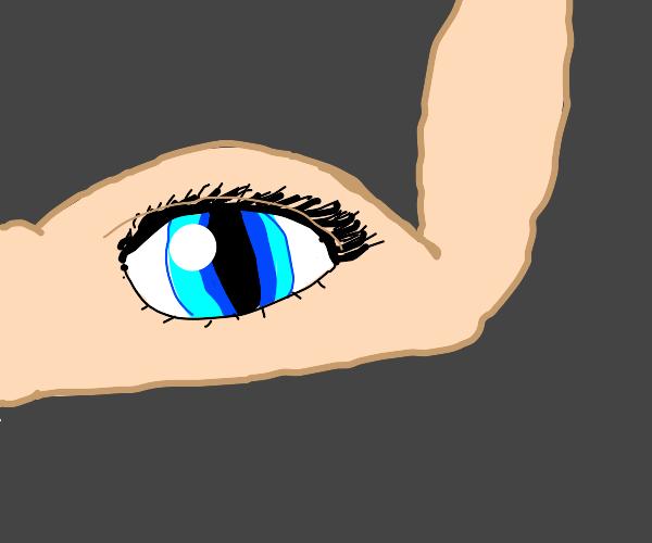Muscle with eye