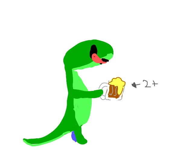 Lizard Drinks Root Beer