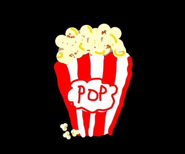 Bucket of popcorn