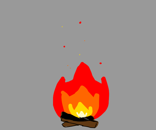 Just a simple campfire