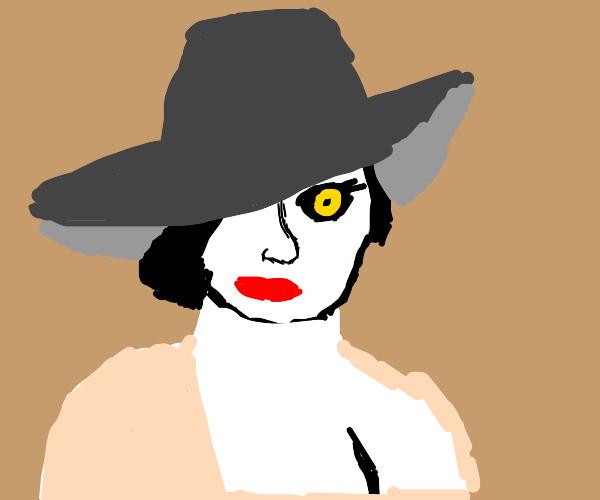 Hot tall vampire mommy from Resident Evil