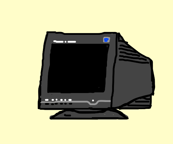 Turned off monitor