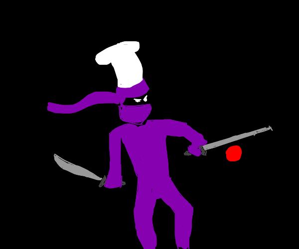 purple ninja chef