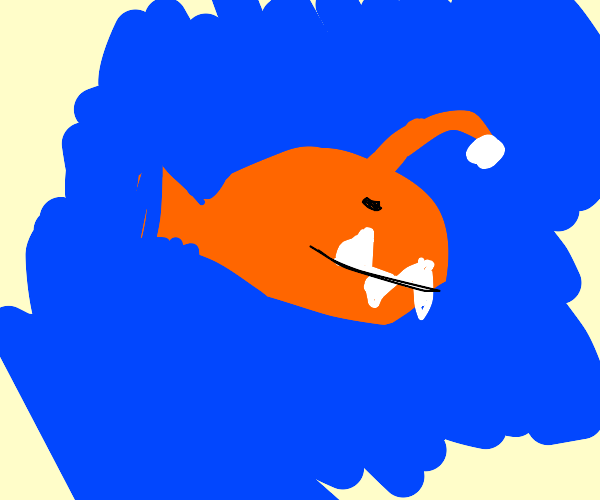 Lady Angler Fish