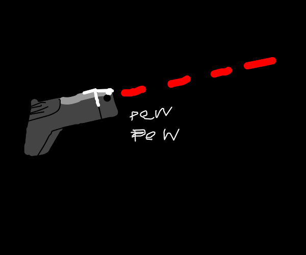 haha laser go pew pew