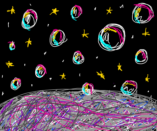 Bubble on the Moon