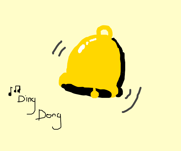 DING DONG GOES THE BELL