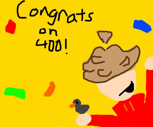 400 Emotes! Woo!