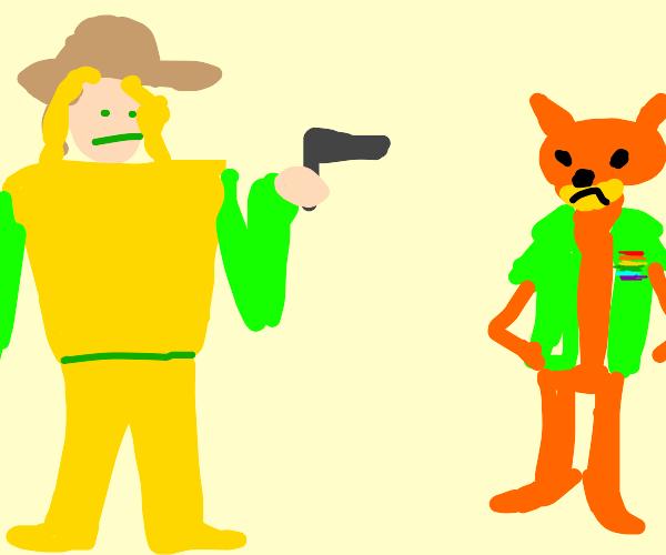 Cowboykills pride fox