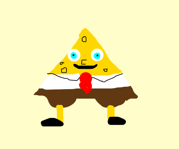 triangle spongebob