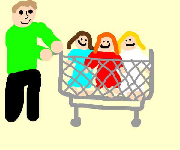 buying women in bulk at costco