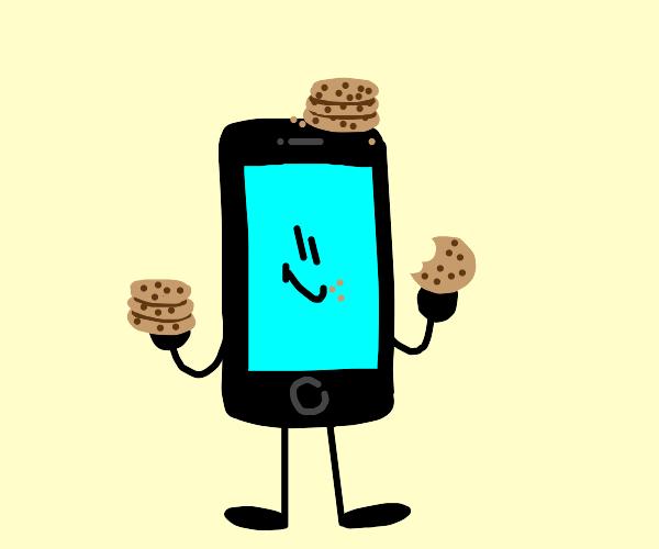 Cookies on phone