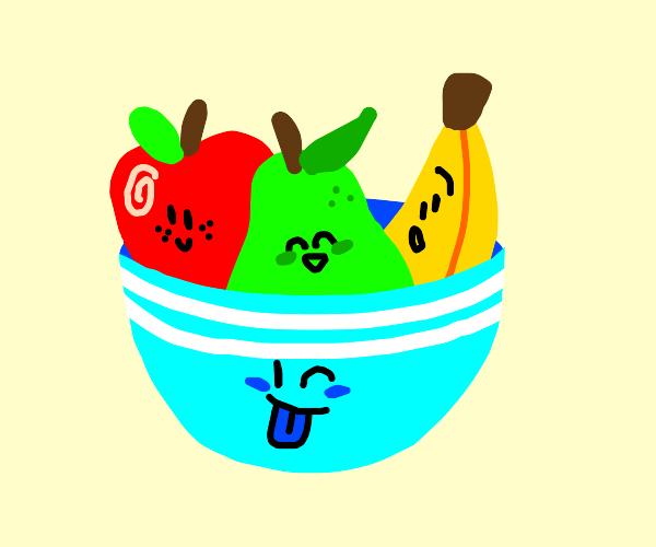 Fruitbowl  Faces