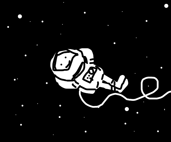 chillin in space