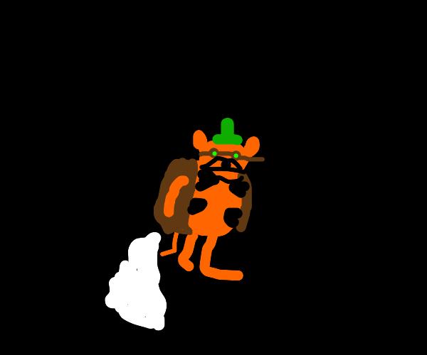 Steampunk Garfield