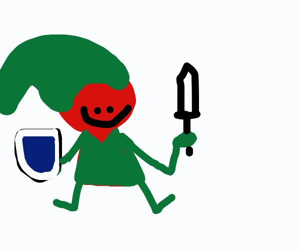 red Link in the woods