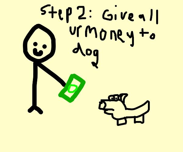 step 1: get a doggo