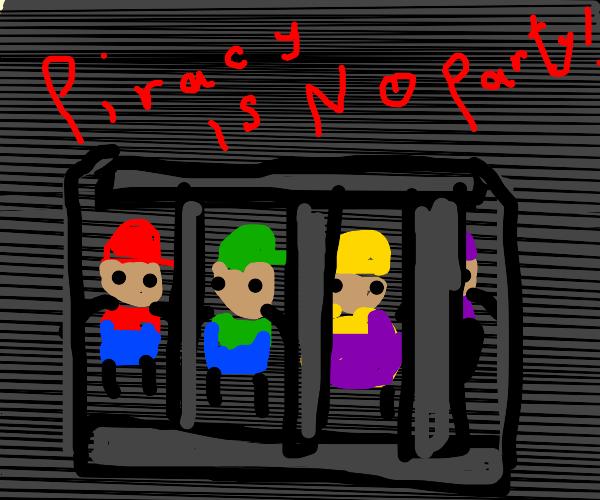 Mario Party Anti-Piracy