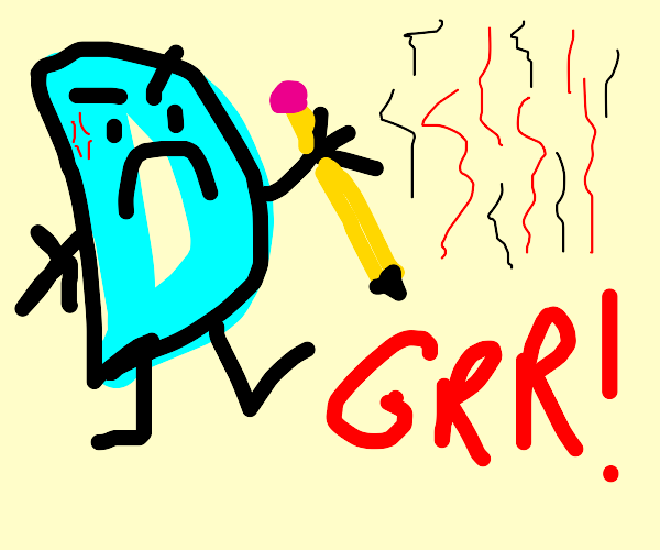 Angry Drawception D