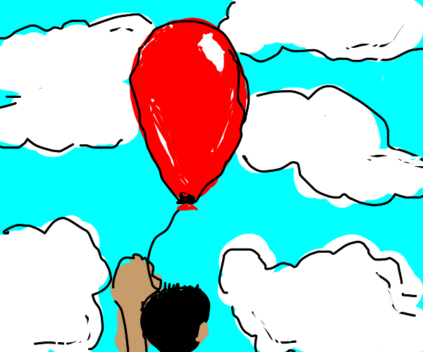 Flying with a Balloon