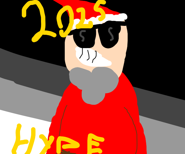 Santa is real hype for 2025