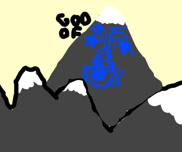 The god of all the mountains