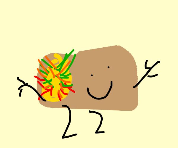 Happy Taco Man