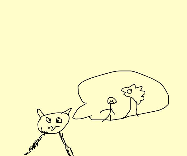 Cat has vietnam flashbacks