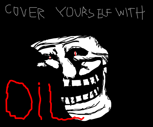 The monster of the trollge. fear him, trollfa