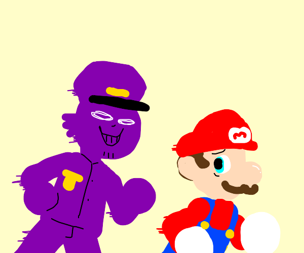 Man behind the slaughter chases mario