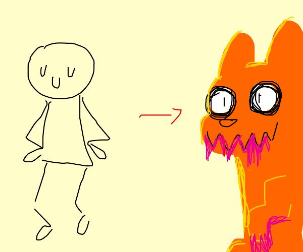 Body swap with crush's pet