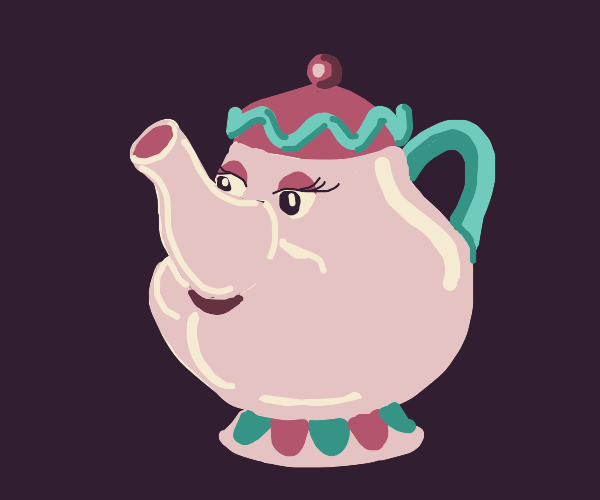 Teapot From Beauty and the Beast
