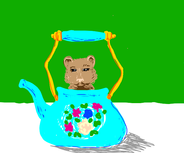 some rodent in kettle