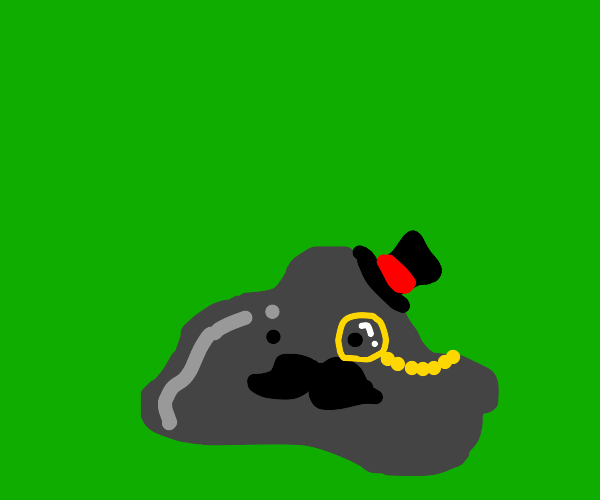 Fancy grey blob
