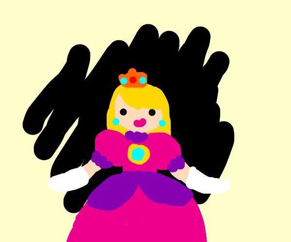 princess peach(mario) is confused