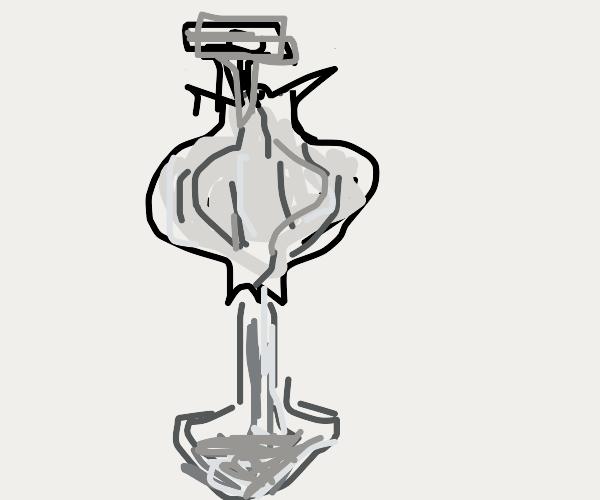 Garlic crossed with Shovel