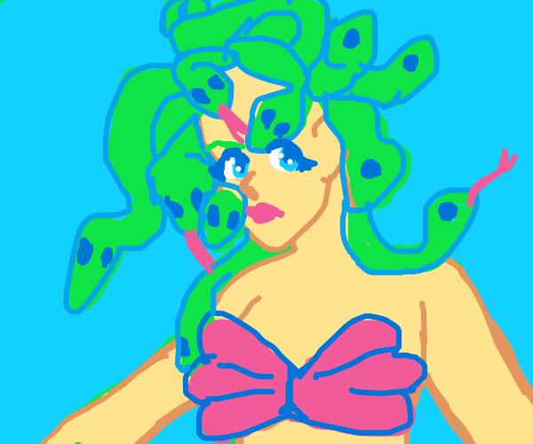 the little mermaid but its medusa