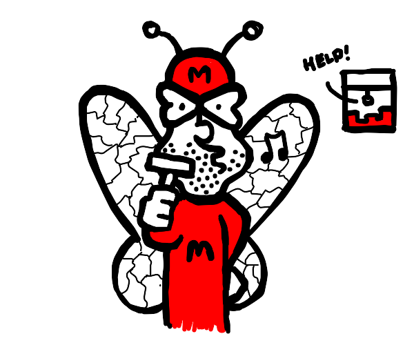mothman shaves