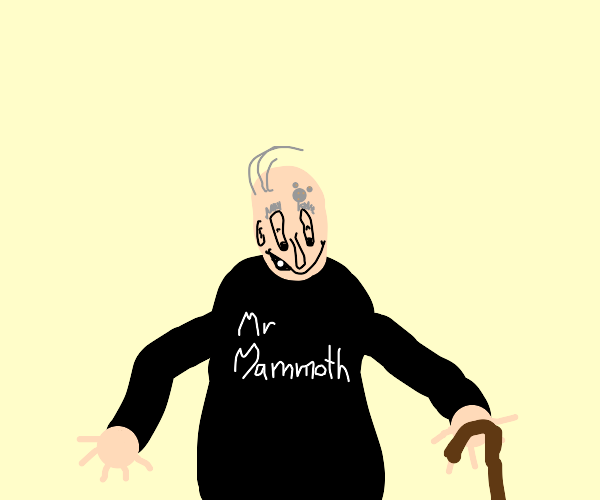 Old Mr. Mammoth